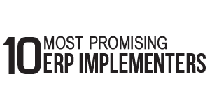 10 Most Promising ERP Implementers - 2014