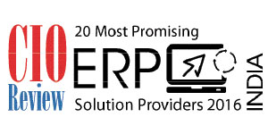 20 Most Promising ERP Solution Providers - 2016