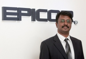 Anish Kanaran, Channel Director-Middle East, Africa &India, Epicor